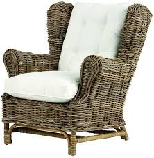 indoor wicker chairs. kai wingback chair - home decorators $699 indoor wicker chairs m