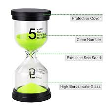 Set Timer 1 Minutes Emdmak Sand Timer Colorful Hourglass Sandglass Timer 1 Min 3 Mins 5 Mins 10 Mins 15 Mins 30 Mins Sand Clock Timer For Games Classroom Home Office Pack
