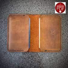 pattern leather wallet pattern