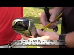 Nike Str8 Fit Settings Chart Hands On Nike Sq Dymo Str8 Fit Driver
