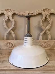 etsy industrial lighting. vintage white enamel industrial lamp shade large size barn by thebeezkneezvintage on etsy lighting h
