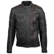 scorpion exo men s 1909 distressed black leather jacket