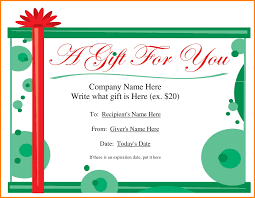 gift voucher template for word sample of invoice 7 gift voucher template for word
