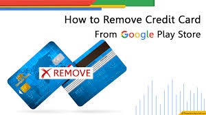 For this, you've to add a credit card in the google store as a payment method to make payments. 4 Steps To Remove Credit Card From Google Play Store In 2021