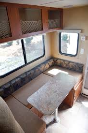 Travel Lite 625 Truck Camper Dinette That Turns Into A Bed Http Rv Dinette Bed Size