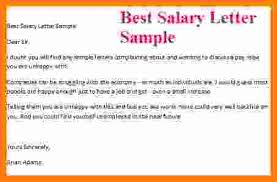 Letter Format For Salary Increment Mwb Online Co