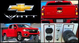 Chevy Watt: The Volt-Powered Plug-In Hybrid Pickup Truck