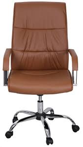 office chairs design. Souq AFT Leather Office Chair With Wheel Brown UAE Chairs Designs 9 Design