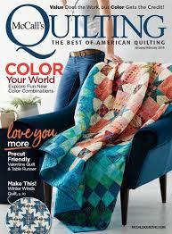 McCall's Quilting January/February 2018 Digital Edition &  Adamdwight.com