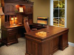 good shaped desk office. Home Office Desk With Hutch Good U Shaped Style Wrap Around .