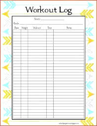 workout sheets workout excel sheet weight loss tracking sheets best weight loss