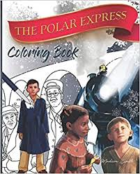 By best coloring pagesdecember 22nd 2016. Polar Express The Coloring Book Smith Madison 9781790227389 Books Amazon Ca