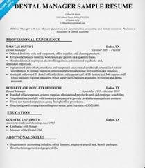 ... Innovational Ideas Dental Office Manager Resume 4 Resume Samples ...