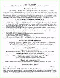 Sample Resume For Rn Nurse Spectacular Registered Nurse