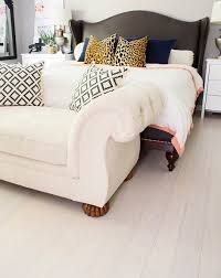 Choosing The Best White Bamboo Flooring For Your Rooms  Luxury Bedroom With White Bamboo Flooring