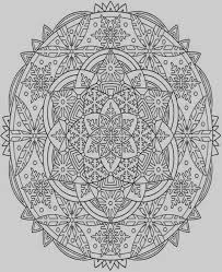 Snowflake Mandala Coloring Pages 61 Best Color Your Way To Calm