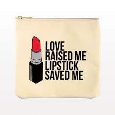 limited edition breakups to makeup signature lipstick makeup clutch off white