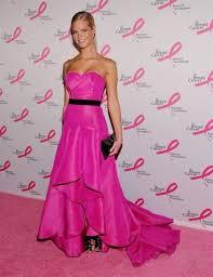 hot pink dress makeup ideas 2018