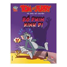 Tom Và Jerry Tô Màu Kể Chuyện - Bộ Phim Kinh Dị | nhanvan.vn – Siêu Thị  Sách & Tiện Ích Nhân Văn