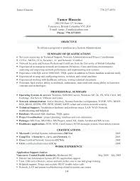 Nursing Administrator Resume System Administration Sample Resume Doc