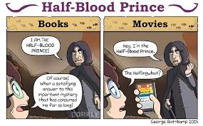 harry potter books vs movies post halfblood