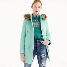 bright colored coat