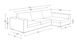 Loveseat Dimensions Standard Average Couch Sizes Size Of Sectional Sofa With Regard To Within Plan