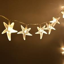 star shaped lighting. Battery Operated Warm White 30 LED Fairy String Lights Starfish Shaped With Remote Indoor\u0026outdoor Used For Christmas, Party, Wedding, New Year Decorations, Star Lighting