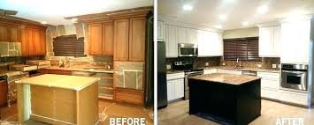 cost to refinish kitchen cabinets. Delighful Kitchen Refinish Kitchen Cabinets Cost How Much Does It To  Diy   On Cost To Refinish Kitchen Cabinets H