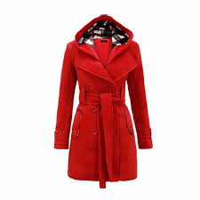 2019 2019 autumn winter women fashion long wool coats red outerwear female coat with hat casual jackets warm fleece for lady overcoat from wayoff