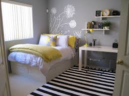White Wooden Bed With Storage White Bed Linen With Yellow Pillow ... & White Wooden Bed With Storage White Bed Linen With Yellow Pillow And Quilt  White Carpet Floor With Black White Carpet White Wooden Desk With Shelving  And ... Adamdwight.com