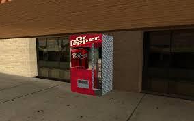 Dr Pepper Vending Machine Mesmerizing GTA San Andreas Dr Pepper Vending Machine Mod GTAinside