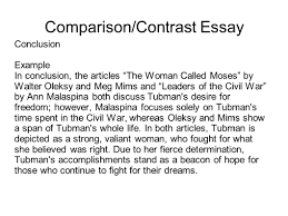 Essay Of Comparison And Contrast Examples How To Write Compare And Contrast Essay Conclusion Mistyhamel