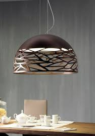 Studio italia lighting Nostalgia Coppery Bronze Finish Neenas Lighting Studio Italia Design Kelly So Suspension Pendant Fixture Neenas
