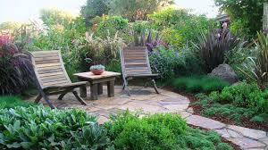 lush slate patio