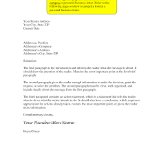 Cover Letter Formal Format Sample Business With Thru Best Solutions