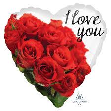 17 hrt i love u rose bouquet