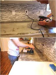 sanding concrete countertops how to reseal and remove stains from concrete wet grinding concrete countertops