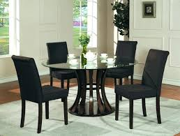 small round breakfast table full size of dinning room black dining room table and chairs awesome