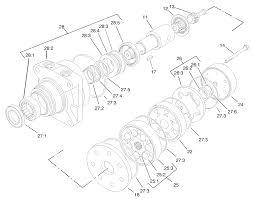 Hydraulic wheel motor assembly no 92 9199
