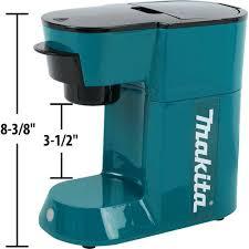 Makita makita dcm500z cordless coffee maker. Makita 18v Lxt Cordless Coffee Maker Usa Tools More