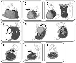 Как сложить <b>палатку</b> восьмеркой?