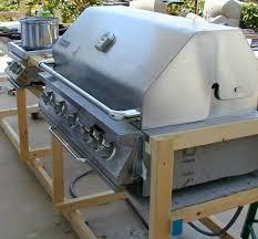 jenn air 60 000 btu 5 burner gas grill. jenn-air 60,000 btu built-in natural gas stainless steel grill - $500 jenn air 60 000 btu 5 burner i
