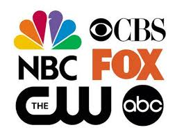 tv networks. all major networks such as abc, cw, fox, pbs, nbc, cbs are sent out over-the-air free of charge. tv