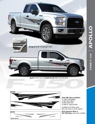 2018 Ford F150 4x4 Decals Apollo 2015 2016 2017 2018 2019 2020 3m Standard Wet Install