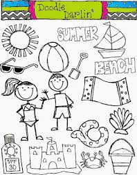 kids at the beach clipart black and white. Wonderful Beach Kids At The Beach Clipart Black And White Background 1 HD Intended O