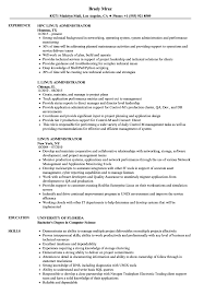 Linux Resume Template Linux Administrator Resume Samples Velvet Jobs 18
