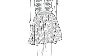 Fashion Girl Coloring Pages Girl Coloring Pages Free Cute Coloring
