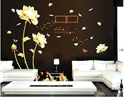medium size of chandelier wall decal large gold nature series removable vinyl mural sticker kids