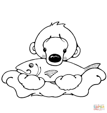 Small Picture Polar bears coloring pages Free Coloring Pages
